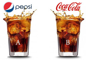 Pepsi Coca Cola experiment