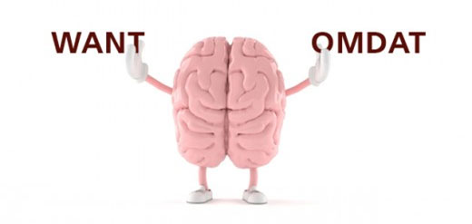 brein want omdat
