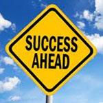 succes ahead