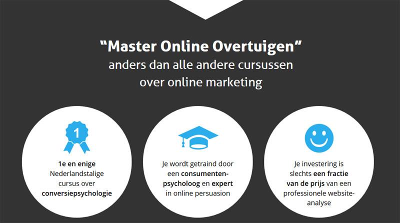 master online overtuigen usp
