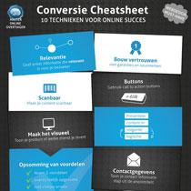 conversie cheatsheet